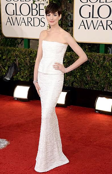 Golden Globe Awards 2013   Designer: Chanel Haute Couture