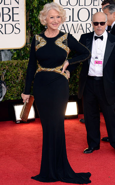 Golden Globe Awards 2013   Designer: Badgley Mischka