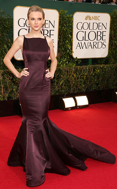 Golden Globe Awards 2013   Designer: Donna Karan Atelier