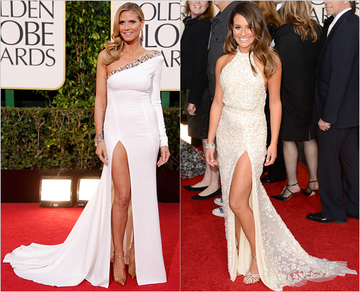 Golden Globes Klum Michele