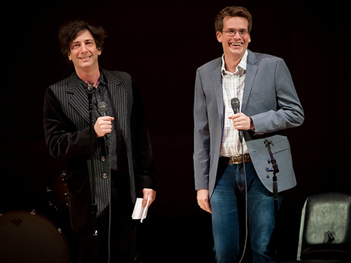 John Green And Neil Gaiman