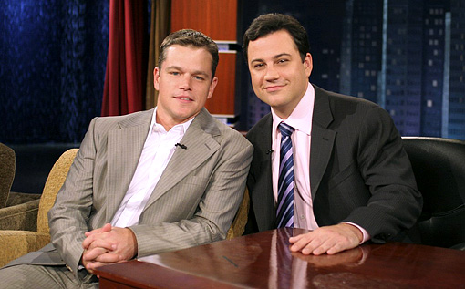 Matt Damon Jimmy Kimmel 01