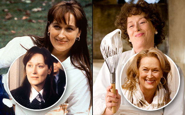 Oscar years: 1996 and 2010 Her Norbits : Before and After and It's Complicated How it went down: Meryl Streep may be better at acting…