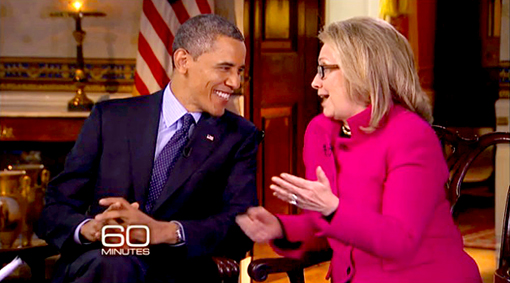 Obama Hillary Interview