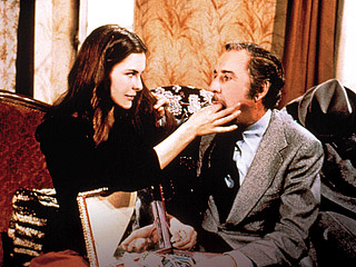 THAT OBSCURE OBJECT OF DESIRE Carole Bouquet and Fernando Rey