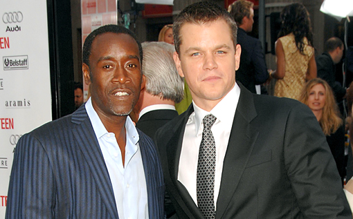 Oceans Don Cheadle Matt Damon