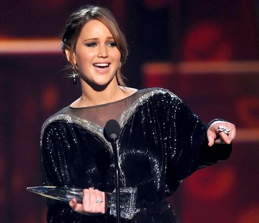 Peoples Choice Awards Jennifer Lawrence