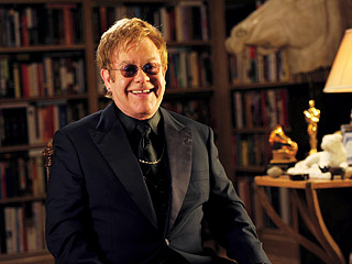 $ELLEBRITY Elton John