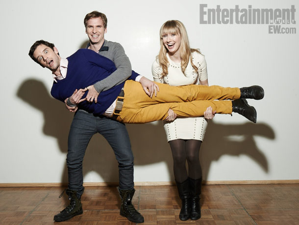 Michael Urie, Ryan Spahn, and Halley Feiffer, He's Way More Famous Than You, Slamdance Film Festival