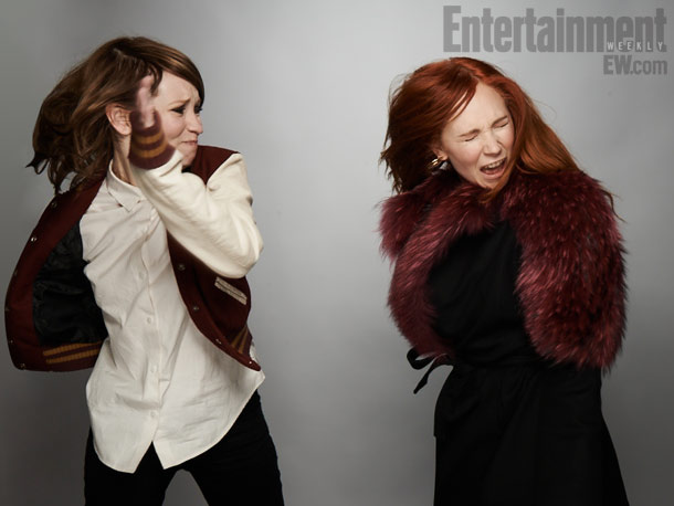 Emily Browning and Juno Temple, Magic Magic