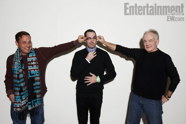 Richmond Arquette, Chad Hartigan (director), and Paul Eenhoorn, This is Martin Bonner