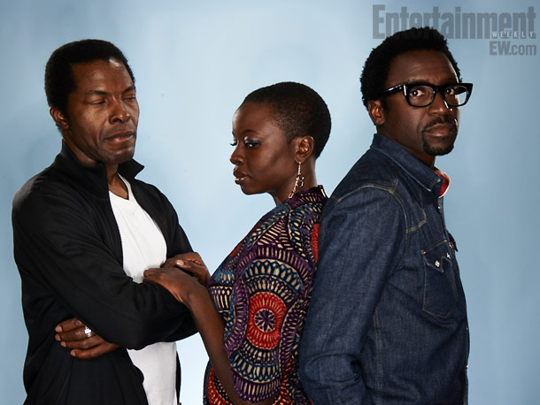 Isaach De Bankolé, Danai Gurira, and Tony Okungbowa, Mother of George