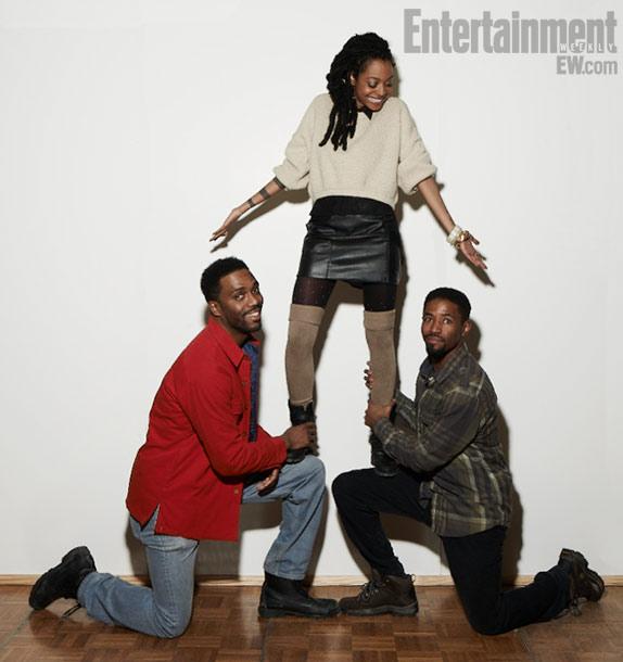 Shaka King (director), Trae Harris, and Amari Cheatom, Newlyweeds