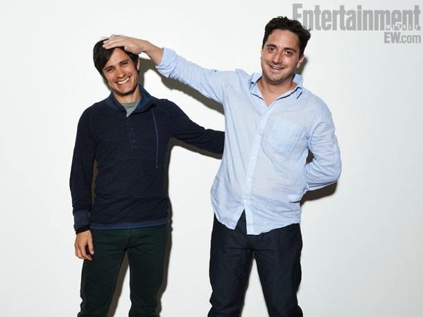 Pablo Larrain (director) and Gael Garcia Bernal, No