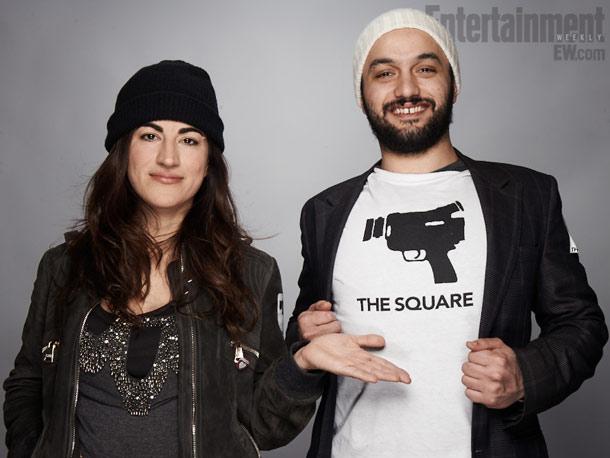 Karim Amer (producer) and Jehane Noujaim (director), The Square