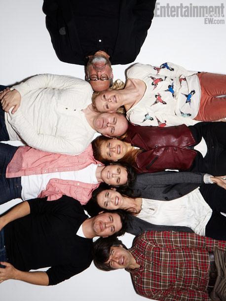 Fred Malamed, Alexandra Holden, Rob Corddry, Lake Bell (director), Tig Notaro, Michaela Watkins, Ken Marino, and Demetri Martin, In A World...