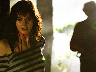EVERYTHING'S BIGGER IN 'TEXAS' Alexandra Daddario tries to survive the 3D installment of the horror series