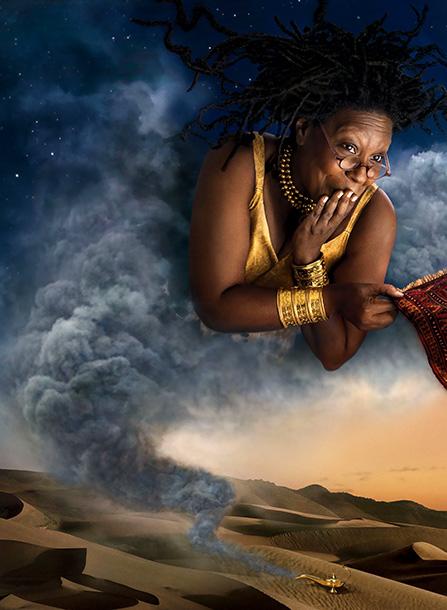 Whoopi Goldberg as Genie