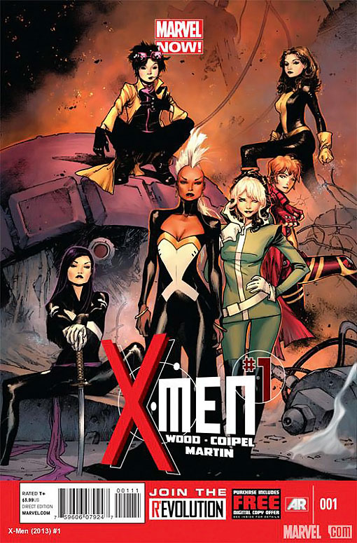 X MEN 01 LADIES