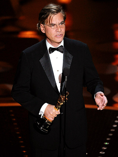 Aaron Sorkin | ''Roxy Sorkin, your father just won the Academy Award. I'm gonna have to insist on some respect from your guinea pig.''—Best Adapted Screenplay for The…