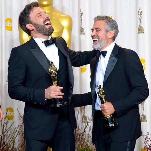Affleck Clooney