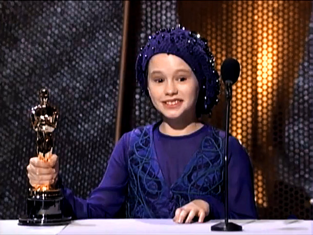 Anna Paquin | The 11-year-old Best Supporting Actress — who still stands as the category's second-youngest winner — was positively agape that she'd snagged the statuette for her…