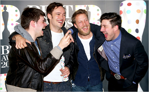Brit Awards Mumford And Sons