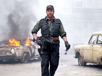 Chuck Norris, The Expendables 2 | Norris may be a surprising 74 years old now, but Walker still doesn't need a walker. The actor-slash-memetic superman came out of retirement to co-star…
