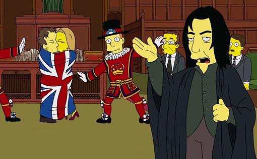 Cumberbatch Simpsons Grab