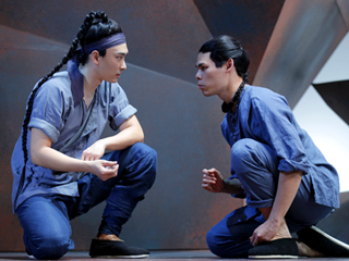 THE DANCE AND THE RAILROAD Yuekun Wu and Ruy Iskandar