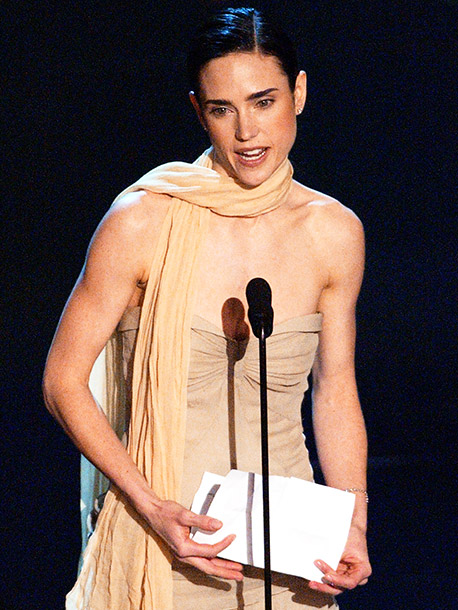Jennifer Connelly | The gifted actress brought a written speech, but it was just a list of people to thank, delivered in a monotone , with her face…