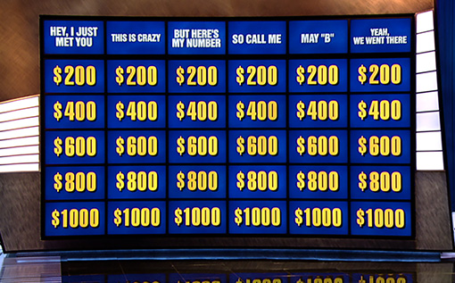 Jeopardy Productions