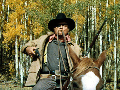 John Wayne | The Duke was 62 when he starred as the incorrigible U.S. Marshal Rooster Cogburn but he embodied the spirit of the Western man of action,…