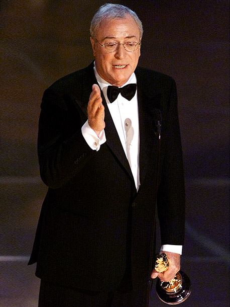 Michael Caine | ''I was thinking back to how the Academy changed 'the winner is' to 'the Oscar goes to.' And if ever there was a category where…