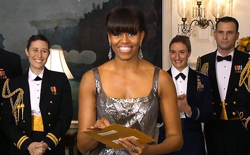 Michelle Obmam Oscars