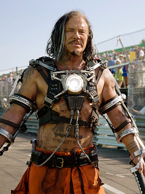 Iron Man 2, Mickey Rourke | Iron Man 2 suffered from a preponderance of villains — didn't we learn anything from Batman & Robin ? — but Mickey Rourke's Ivan Vanko…