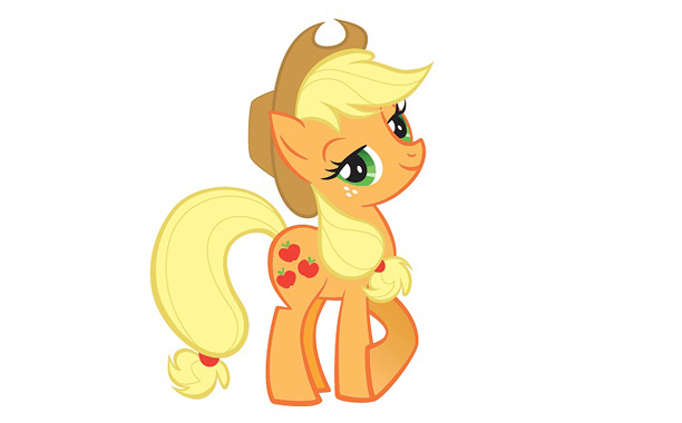 Sensible, down-home, southern-accented Applejack is an Earth Pony, the only type of pony who can grow food. Naturally, she's also a gifted farmer who's totally…