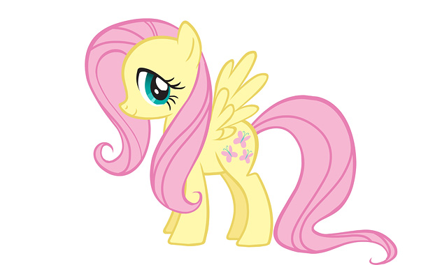 As her name implies, Fluttershy is the most bashful pony around — but also the most gentle, graceful, and compassionate. She has a special connection…
