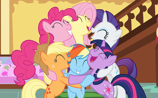 Giddyup! My Little Pony Friendship Is Magic — yes, technically there's no colon — follows the adventure of Twilight Sparkle and her five best pals,…