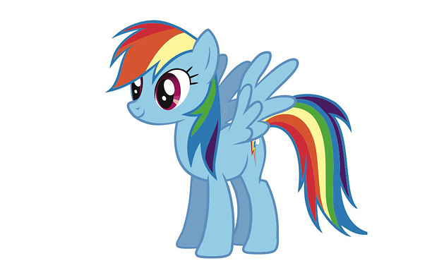 Athletic, bold Rainbow Dash is a Pegasus pony, which means she has wings and the ability to manipulate the weather. She loves to race and…