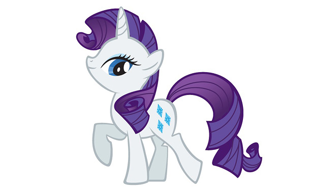 Beautiful, stylish Rarity is a unicorn and a talented fashion designer. (Yes, ponies sometimes wear clothes.) While she may seem vain or entitled at first,…