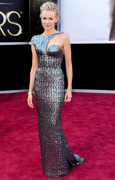 Style, Style: Red Carpet, ... | Though we applaud Watts for taking a risk with this bold Armani Privé number, we're going to have to give the cutout on this otherwise…