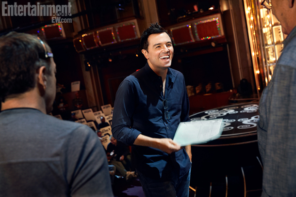 Oscar host Seth MacFarlane at the Dolby Theater