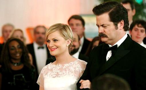 PARKS REC WEDDING
