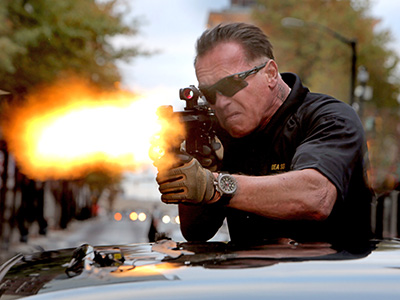 Since leaving the governorship of California, Schwarzenegger has delivered on his famous vow to be back, muscling into the Expendables franchise and prepping for this…