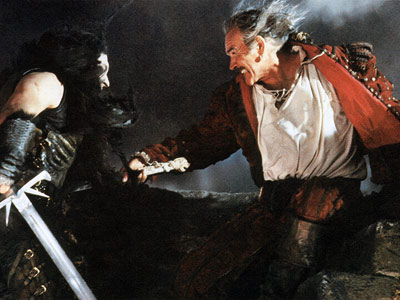Sean Connery, Highlander   There can be only one Sean Connery, whose dashing debonair act aged gracefully with him. And even in this cult classic, as his immortal Ramirez…