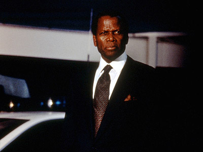 Sidney Poitier, The Jackal | Bruce Willis' international killer may have been the one on the run and Richard Gere's interestingly accented IRA sniper the one chasing him but the…