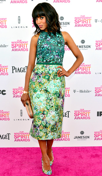 Kerry Washington in Giambattista Valli