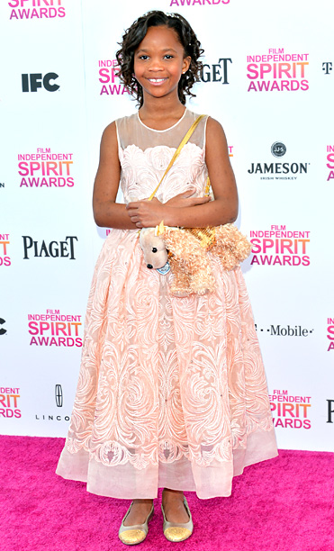 Quvenzhane Wallis in Stella McCartney