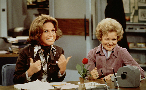 Creator James L. Brooks drew on his own background as a broadcast news writer for this classic about perky single gal Mary Richards, who came…